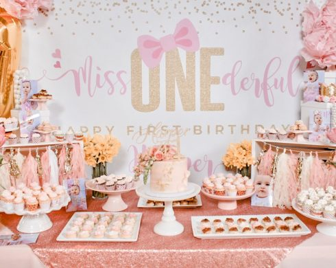 Miss ONEderful 1st Birthday Table